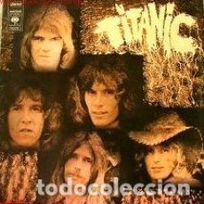 Discos de vinilo: TITANIC (LP. MAD. IN FRANCE 1971) SEA WOLF - SULTANA, COVERED IN DUST, EXILED, SCARLET ..... Lote 155179062