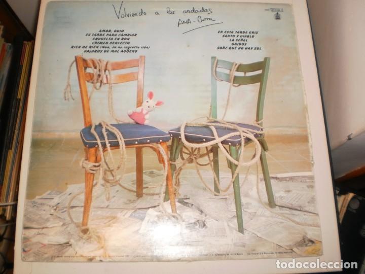 Discos de vinilo: lp ana curra parálisis permanente volviendo a las andadas. hispavox 1987 spain encarte (seminuevo) - Foto 2 - 155196934