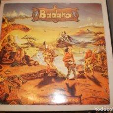 Discos de vinilo: LP BADANA. ADIÓS A LAS RUINAS. METAL CLAVE RECORDS 1995 SPAIN CON ENCARTE (PROBADO. BIEN, SEMINUEVO). Lote 155199830