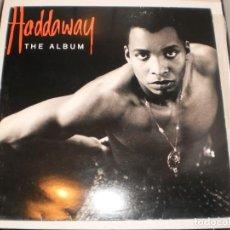 Discos de vinilo: LP HADDAWAY. THE ALBUM. COCONUT RECORDS 1993 HOLLANDE (PROBADO Y BIEN). Lote 155200546