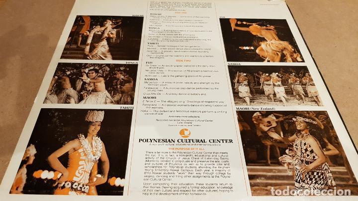Discos de vinilo: POLYNESIA / INVITATION TO PARADISE / LP-POLYNESIAN CULTURAL CENTER / MBC. ***/*** / RARO. - Foto 2 - 155201478