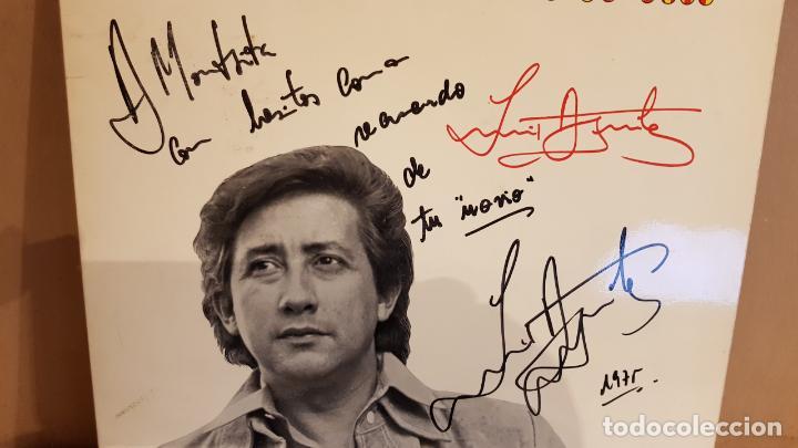 Discos de vinilo: FIRMADO !! LUIS AGUILÉ A CATALUNYA / LP GATEFOLD - ARIOLA-1975 / DEDICADO Y FIRMADO / MBC. ***/*** - Foto 2 - 155204198