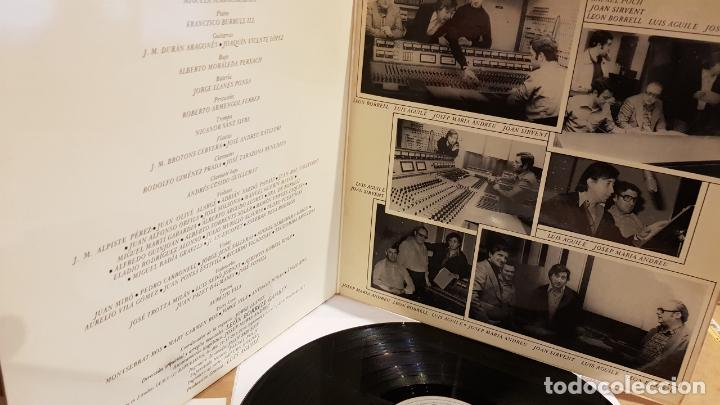 Discos de vinilo: FIRMADO !! LUIS AGUILÉ A CATALUNYA / LP GATEFOLD - ARIOLA-1975 / DEDICADO Y FIRMADO / MBC. ***/*** - Foto 3 - 155204198