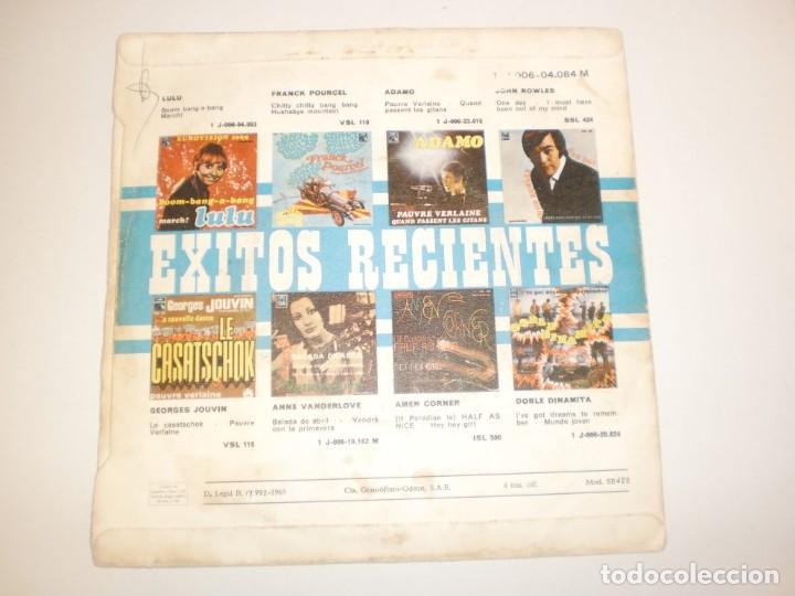 Discos de vinilo: single the beatles. get back. don't let me down. emi 1969 spain (probado y bien, seminuevo) - Foto 2 - 155204466