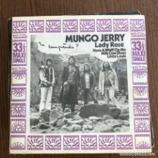 Discos de vinilo: MUNGO JERRY - LADY ROSE + 3 - EP DAWN UK 1971 . Lote 155205430