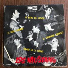 Discos de vinilo: MUSTANG - SUBMARINO AMARILLO + 3 - EP EMI 1966 . Lote 155206054