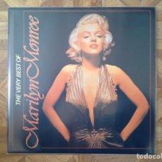 Discos de vinilo: MARILYN MONROE - VERY BEST OF - LP BÉLGICA ?? - CARPETA EX- VINILO EX-. Lote 155210202