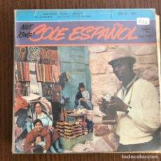 Discos de vinilo: NAT 'KING' COLE - COLE ESPAÑOL - EP CAPITOL FRANCIA 1958. Lote 155211782