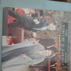 Discos de vinilo: MERCURY & CABALLE BARCELONA 1987 POLYDOR #. Lote 155224702