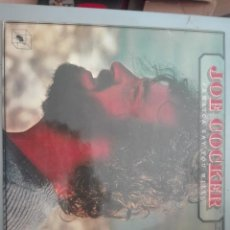 Discos de vinilo: JOE COCKER JAMAICA SAY YOU WILL 1975 CUBE RECORDS#. Lote 155227590