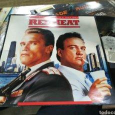 Discos de vinilo: RED HEAT LP B.S.O. JAMES HORNER 1988. Lote 155234224