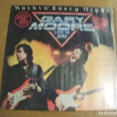 Dischi in vinile: LP GARY MOORE ROCKIN EVERY NIGHT SPAIN 1986. Lote 155234326
