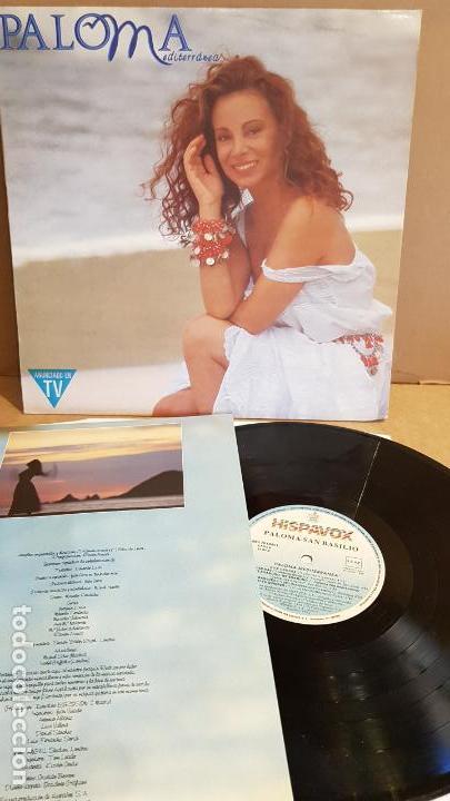 PALOMA SAN BASILIO / PALOMA MEDITERRÁNEA / LP-HISPAVOX - 1992 / MBC ***/*** (Música - Discos - LP Vinilo - Solistas Españoles de los 70 a la actualidad)