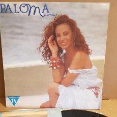Discos de vinilo: PALOMA SAN BASILIO / PALOMA MEDITERRÁNEA / LP-HISPAVOX - 1992 / MBC ***/***. Lote 155239058