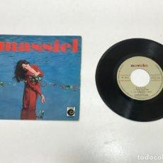 Discos de vinilo: MAXI SINGLE MASSIEL 1967. Lote 154506880
