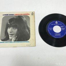 Discos de vinilo: MAXI SINGLE SANDIE SHAW 1966. Lote 155245234