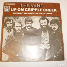 Discos de vinilo: SINGLE THE BAND. UP ON CRIPPLE CREEK. THE NIGHT THEY DROVE OLD DIXIE DOWN, CAPITOL 1969 SPAIN. Lote 155245354