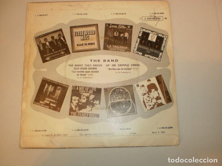 Discos de vinilo: single the band. up on cripple creek. the night they drove old dixie down, capitol 1969 spain - Foto 2 - 155245354