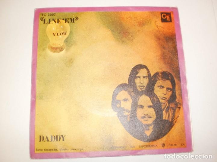 SINGLE FLOW. LINE' EM. DADDY. CTI RECORDS 1970 SPAIN (PROBADO Y BIEN, SEMINUEVO) (Música - Discos - Singles Vinilo - Pop - Rock - Extranjero de los 70)