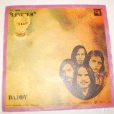 Discos de vinilo: SINGLE FLOW. LINE' EM. DADDY. CTI RECORDS 1970 SPAIN (PROBADO Y BIEN, SEMINUEVO). Lote 155248050