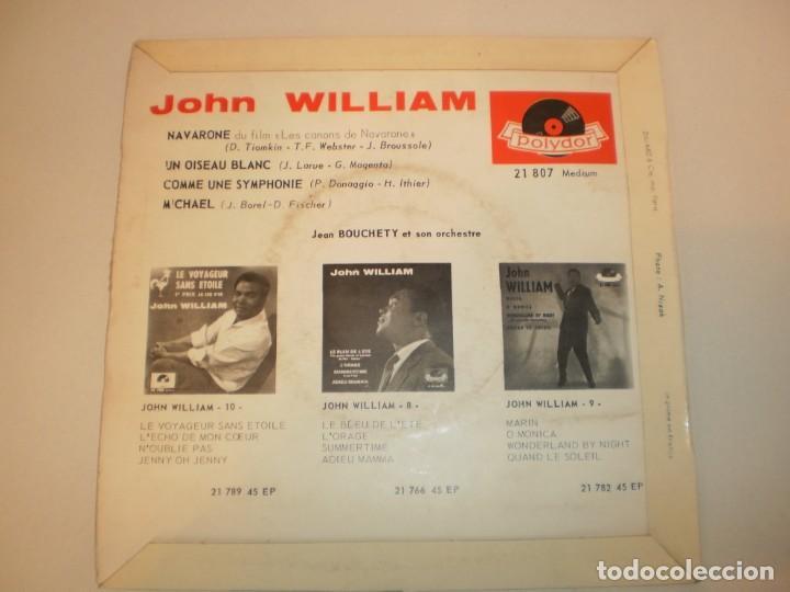 Discos de vinilo: single john william. navarone. un oiseau blanc. comme une symphonte. michael. polydor france - Foto 2 - 155251398