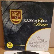 Discos de vinilo: FRANZ LEHÁR / DER GRAF VON LUXEMBURG / VICTOR REINSHAGEN / LP GATEFOLD -DECCA / MBC. ***/***. Lote 213449887