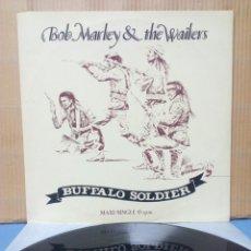 Discos de vinilo: BOB MARLEY & THE WAILERS - BUFFALO SOLDIERS 1983 ES. Lote 155255313