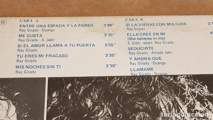 Discos de vinilo: DYANGO / ENTRE UNA ESPADA Y LA PARED / LP - EMI-ODEON - 1981 / MBC. ***/*** - Foto 3 - 155259242