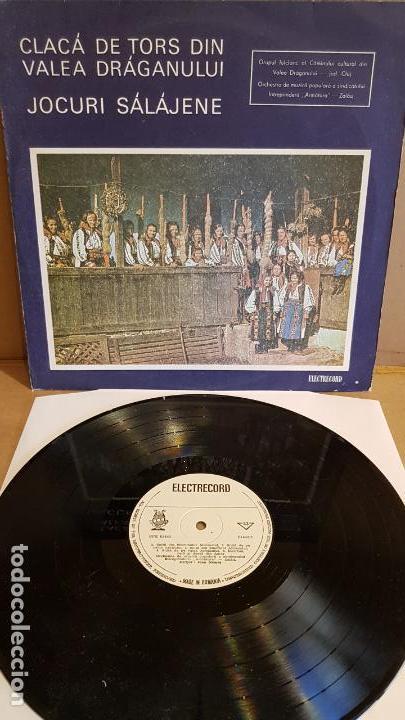 CLACÁ DE TORS DIN VALEA DRÁGANULUI / LP-ELECTRECORD-RUMANIA / RARO / MBC. ***/*** (Música - Discos - LP Vinilo - Étnicas y Músicas del Mundo)