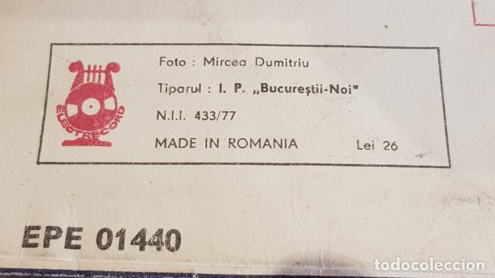 Discos de vinilo: CLACÁ DE TORS DIN VALEA DRÁGANULUI / LP-ELECTRECORD-RUMANIA / RARO / MBC. ***/*** - Foto 5 - 155259670