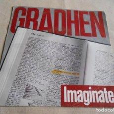 Discos de vinilo: GRADHEN, SG, IMAGINATE + 1, AÑO 1990 PROMO. Lote 155266838