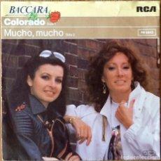 Dischi in vinile: BACCARA : COLORADO [ESP 1981] 7'. Lote 155270114