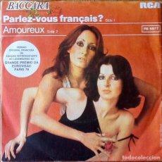 Dischi in vinile: BACCARA : PARLEZ-VOUS FRANÇAIS? [PRT 1978] 7'. Lote 155271694