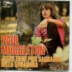 Discos de vinilo: PAUL MUGGLETON / JESUS TIENE PÌES SAGRADOS (FESTIVAL MALAGA 71) BELLA SOÑADORA (SINGLE PROMO 1971). Lote 155283850