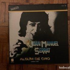 Discos de vinilo: JOAN MANUEL SERRAT ?– ÁLBUM DE ORO SELLO: ZAFIRO ?– ZN-401 E FORMATO: 4 × VINYL, LP, COMPILATION. Lote 155289485