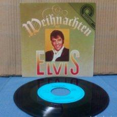 Discos de vinilo: ELVIS PRESLEY - WEIHNACHTEN MIT ELVIS EP GER ( RDA ) AMIGA. Lote 155300838
