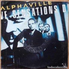 Discos de vinilo: ALPHAVILLE ?– SENSATIONS - SINGLE SPAIN 1986. Lote 155305366