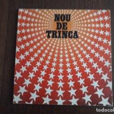 Discos de vinilo: DISCO VINILO LP NOU DE TRINCA, ARIOLA AÑO 1981. Lote 155312354