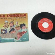 Discos de vinilo: SINGLE LA PANDILLA 1970. Lote 155317938
