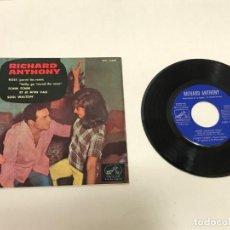 Discos de vinilo: SINGLE RICHAD ANTHONY 1968. Lote 155318414