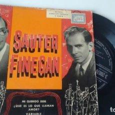 Discos de vinilo: E P ( VINILO) DE ORQUESTA SAUTER FINEGAN AÑOS 50. Lote 155333166