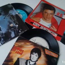 Discos de vinilo: LOTE DE 3 SINGLES (VINILO) DE ITALO DISCO. Lote 155336026