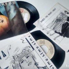 Discos de vinilo: LOTE DE 3 SINGLES DE ITALO DISCO. Lote 155336130