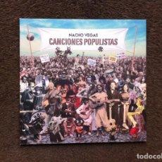 Discos de vinilo: NACHO VEGAS. CANCIONES POPULISTAS (LP, 10 PULGADAS) . Lote 155341494