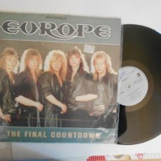 Discos de vinilo: EUROPE-MAXI THE FINAL COUNTDOWN. Lote 155348914