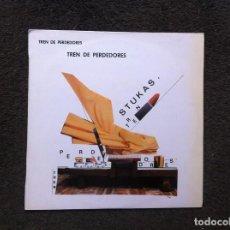 Discos de vinilo: STUKAS. TREN DE PERDEDORES (LP) 1986. Lote 155350298