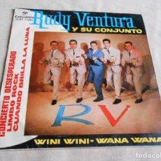 Disques de vinyle: RUDY VENTURA Y SU CONJUNTO, EP, CONCIERTO DESESPERADO + 3, AÑO 1963. Lote 155353210