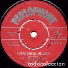 Vinyl records - The Temperance Seven - You're Driving Me Crazy (7, Single) Label:Parlophone Cat#: 45-R 4757 - 155357198