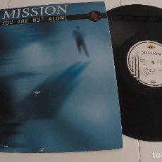 Discos de vinilo: MISSION - YOU ARE NOT ALONE. Lote 155359434