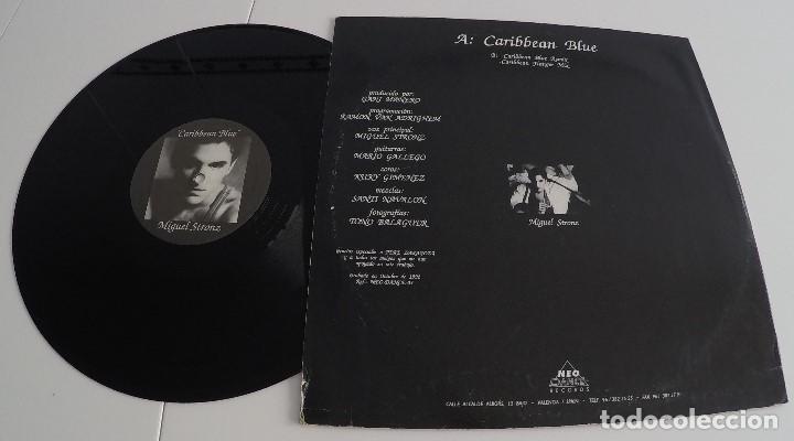 Discos de vinilo: Miguel Stronz - Caribbean Blue - Foto 2 - 155362074